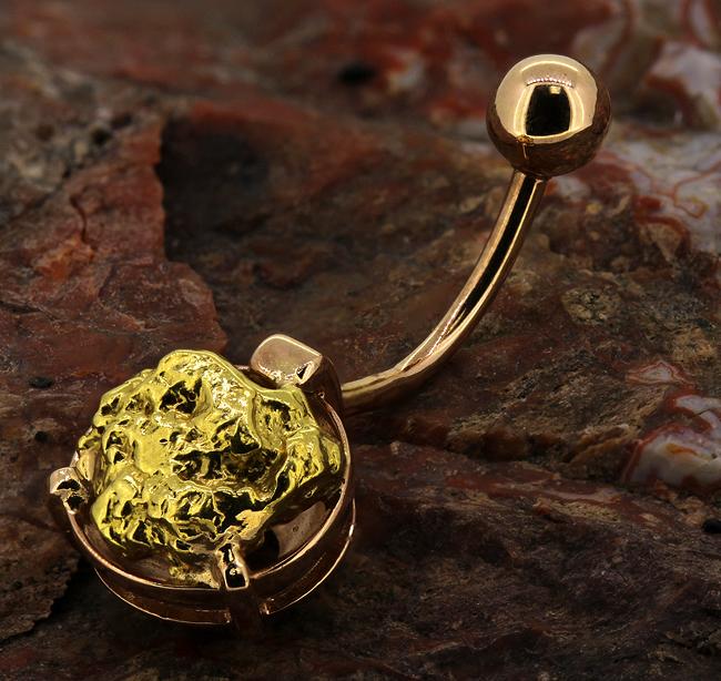 Эксклюзивный пирсинг из золота